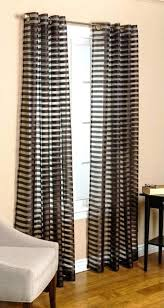 Black And White Striped Curtains Target by Black Sheer Curtains U2013 Teawing Co