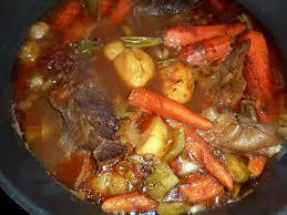 cuisiner paleron recette de paleron aux carottes fanes