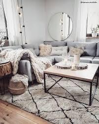 wohnzimmer wohnzimmerideen skandinavisch sofa cozy