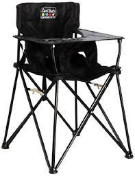Evenflo High Chairs Walmart by Amazon Com Ciao Baby Portable High Chair Black Chair