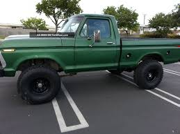 100 Highboy Truck 1975 Ford F100 4x4 1975 Ford S Accessories And