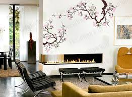 Japanese Cherry Blossom Bathroom Set by Cherry Blossom Wall Decal Tree Branch Stickers Japanese Large