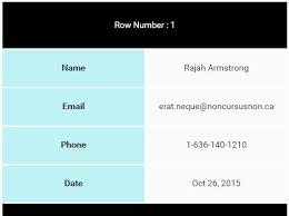 FooTable jQuery Responsive HTML Table Plugin