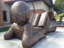A Book Sculpture By Hans Gilsdorf In Front Of The Detroit Lakes Public Library Periplus