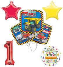 100 Tonka Truck Birthday Party Supplies Amazoncom 1st And Balloon