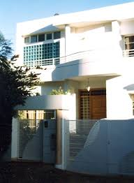facade de villa moderne au maroc