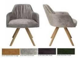 stühle im vintage retro stil fürs esszimmer drehstuhl
