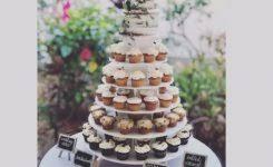Wedding Cake And Cupcakes Picture Naked Of Cupcake Delights Inc 450