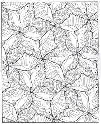 MindWare Hidden Transformations Coloring Pages
