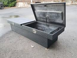 Truck Bed Toolbox - Gorge.net Classifieds XX Extang Trifecta 20 Toolbox Truck Bed Covers Trux Unlimited Custom Tool Boxes For Trucks Pickup Trucks Semi Tool Boxes Cab Tool Boxes Marvelous Diy Box Do It Your Waterproof Storage Soifer Center Low Side Highway Products Brute Bedsafe Hd Heavy Duty Zdog Dodge Ram 1500 Crew 5 7 674 2010 Standard Video Honda Ridgeline Again Bests Chevy And Ford With Another Truck Cover With 75 Best For How To Decide Which Buy The 3000 Series Alinum Beds Hillsboro Trailers Truckbeds Undcover Swing Case Fast Facts Youtube