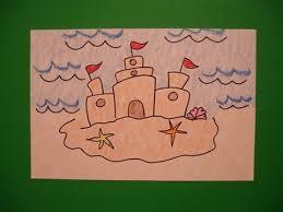 Lets Draw A Sand Castle