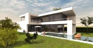 modernes architektenhaus in l form bauen grundriss design