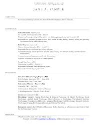 Social Work Resume Examples 2015 Inspirational Objective Internship Worker For Child Care