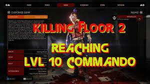 Killing Floor Patriarch Trophy by Killing Floor 2 Grain To Lvl 10 Commando Team Player 25