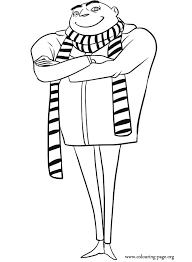 Despicable Me 3 2017 Gru Coloring Pages Printable And Book To Print For Free Find More Online Kids Adults Of