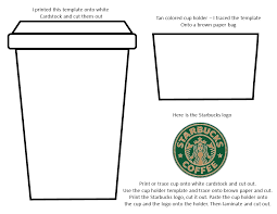 Starbucks Coffee Cup Template