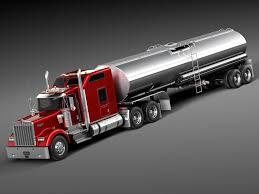 100 Toy Kenworth Trucks W900 Sleeper Cab Tanker 2014 3D Model In Truck 3DExport