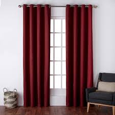 96 Inch Curtains Walmart by Exclusive Home Virenze Faux Silk Grommet Top Window Curtain Panels