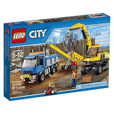 Amazon.com: LEGO City Demolition Excavator And Truck: Toys & Games