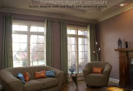 Kirsch Drapery Rods Direct by Custom Window Treatments Drapery Valance Swags In Crystal Lake Il