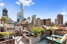 100 Tribeca Roof 2675M Duplex Loft In Boasts A 500squarefoot Roof