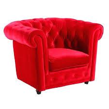 fauteuil velours pas cher fauteuil petit fauteuil crapaud en coton
