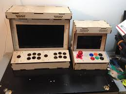 Mame Arcade Cocktail Cabinet Plans by Diy Arcade Cabinet Kits More 2 Player Porta Pi