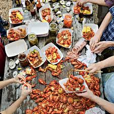 Crawfish Boil Decorating Ideas by Crawfish Boil With A Texas Twist Crawfish Season Crab Boil And