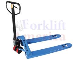 100 Pallet Truck 21x36 Poly Steer Single Load Wheel HJ Series Jack