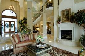 Tuscan Style Home Mediterranean Living Room