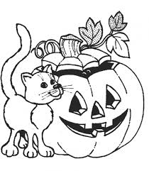 Printable Halloween Coloring Pages Adult Archives