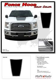 100 Ford Truck Decals 20152019 F150 FORCE HOOD Solid Vinyl Stripe