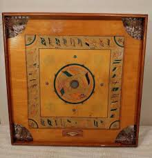BEAUTIFUL Antique Early 1900s Carrom Game Board