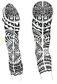I Was Commissioned To Create A Full Arm Tattoo Ive Never Designed Tattoos Maori DesignsPolynesian