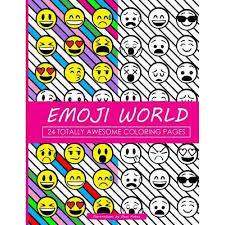 Emoji World Coloring Book 24 Totally Awesome Pages