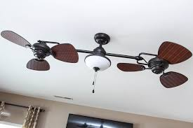 Harbor Breeze Ceiling Fan Issues by Harbor Breeze Twin Breeze Ii 74 In Oil Rubbed Bronze Outdoor