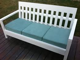 ana white simple white outdoor sofa diy projects