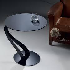 bout de canapé noir bouts de canapes tables et chaises bout de canapé tom design noir
