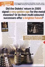 Make Dalek Christmas Tree by Doctor Who What Happened To The Multi Coloured Paradigm Daleks