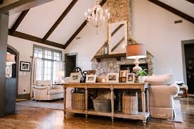 Houzz Living Rooms Traditional by How To Decorate A Console Table Living Room Traditional With My