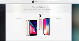 iphone X iphone 8 & 8 plus giveaway