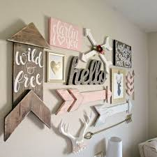 Wall Decor Ideas For Baby Girl Nursery Exterior Remodel