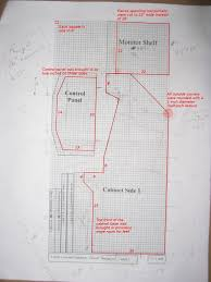 Bartop Arcade Cabinet Plans Pdf by Ultimate Arcade Cabinet Plans Pdf Scifihits Com