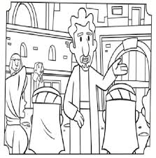Coloring Pages For Paul And Barnabas