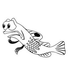 Finding Nemo Coloring Pages Line Art