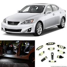 2006 2013 lexus is250 is350 isf interior led lights package