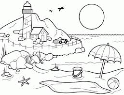 Medium Size Of Coloring Pagecoloring Page Beach Decorative Pages For Adults