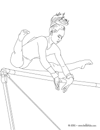 Gymnastics Coloring Pages Printable Download