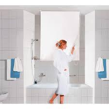 obi dusch rollo 140 cm x 240 cm weiß