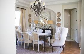 Elegant Dining Room With Old And New Furniture